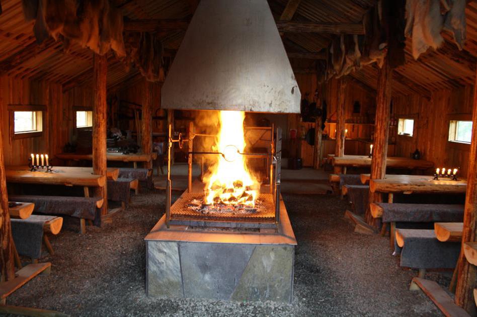 vikinghuset ild